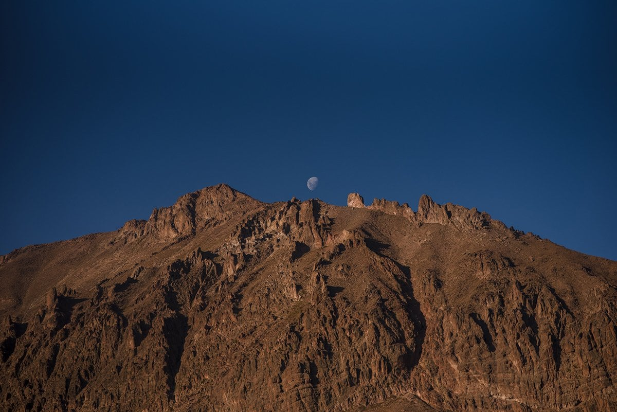 Los Andes Mountain Chile